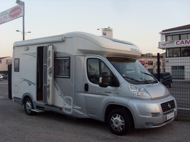 Camping car chausson occasion