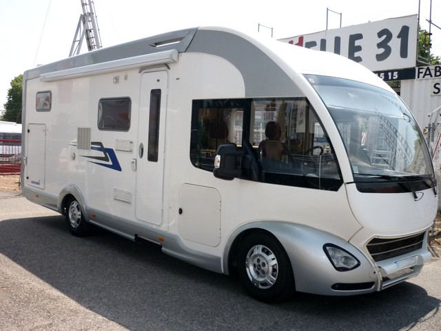 Camping car eura mobil camping car hymer integral occasion particulier