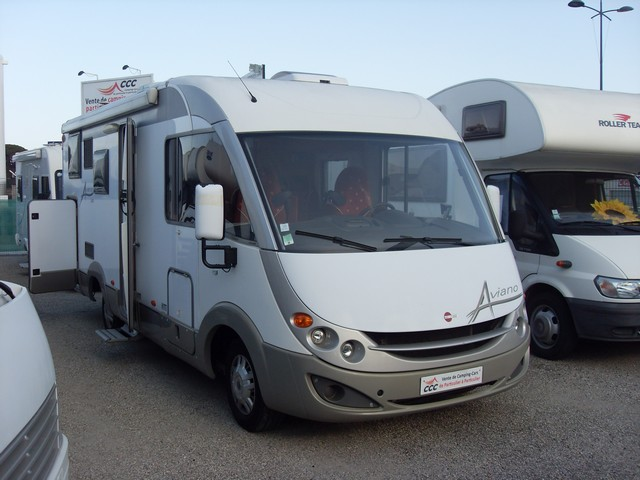 Camping car occasion burstner integral