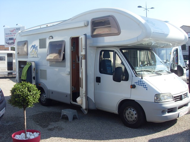 Camping car occasion knaus particulier camping car occasion opale evasion