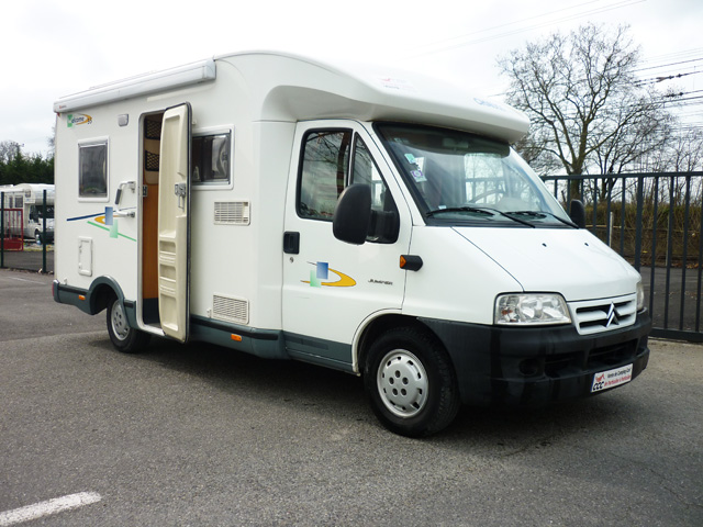 Camping car chausson welcome 55 occasion