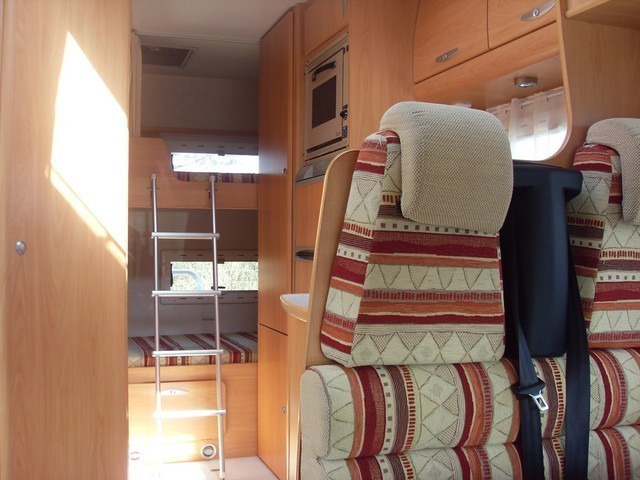 Camping car chausson welcome 17 occasion