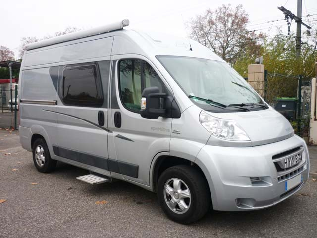 Camping car fourgon hymer occasion