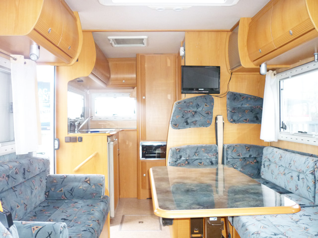 Camping car pilote galaxy 240 occasion