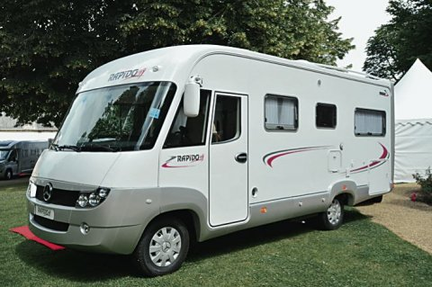 Camping car rapido intégral occasion mercedes