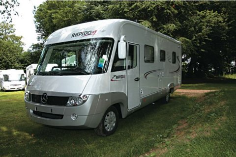 Camping car occasion rapido integral mercedes