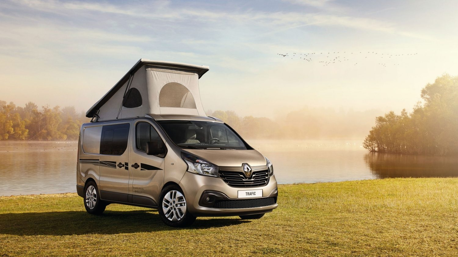 Camping car occasion trafic renault