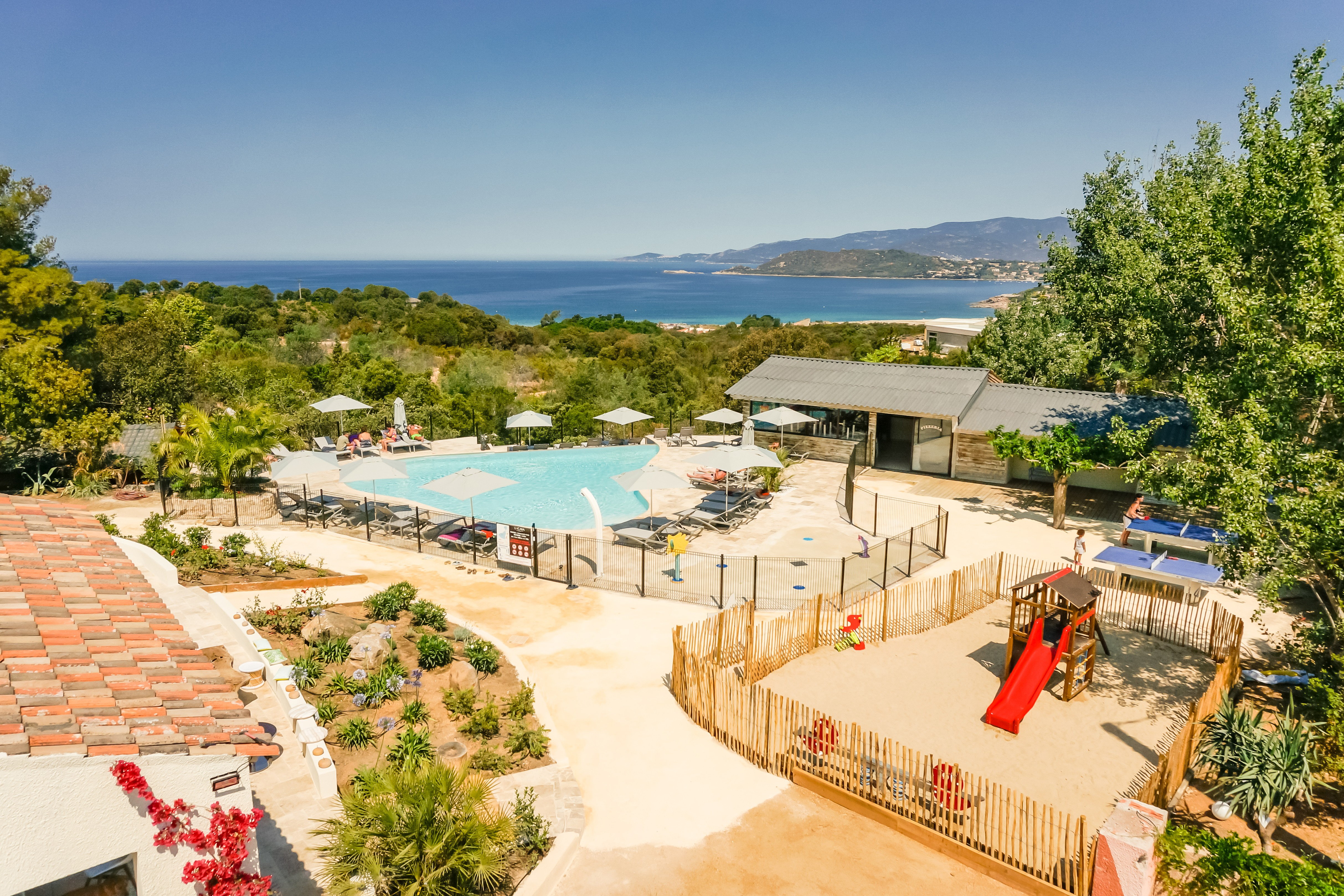 Camping corse du sud ouest camping corse propriano