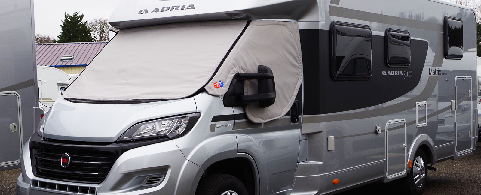 Rideau isolant camping car