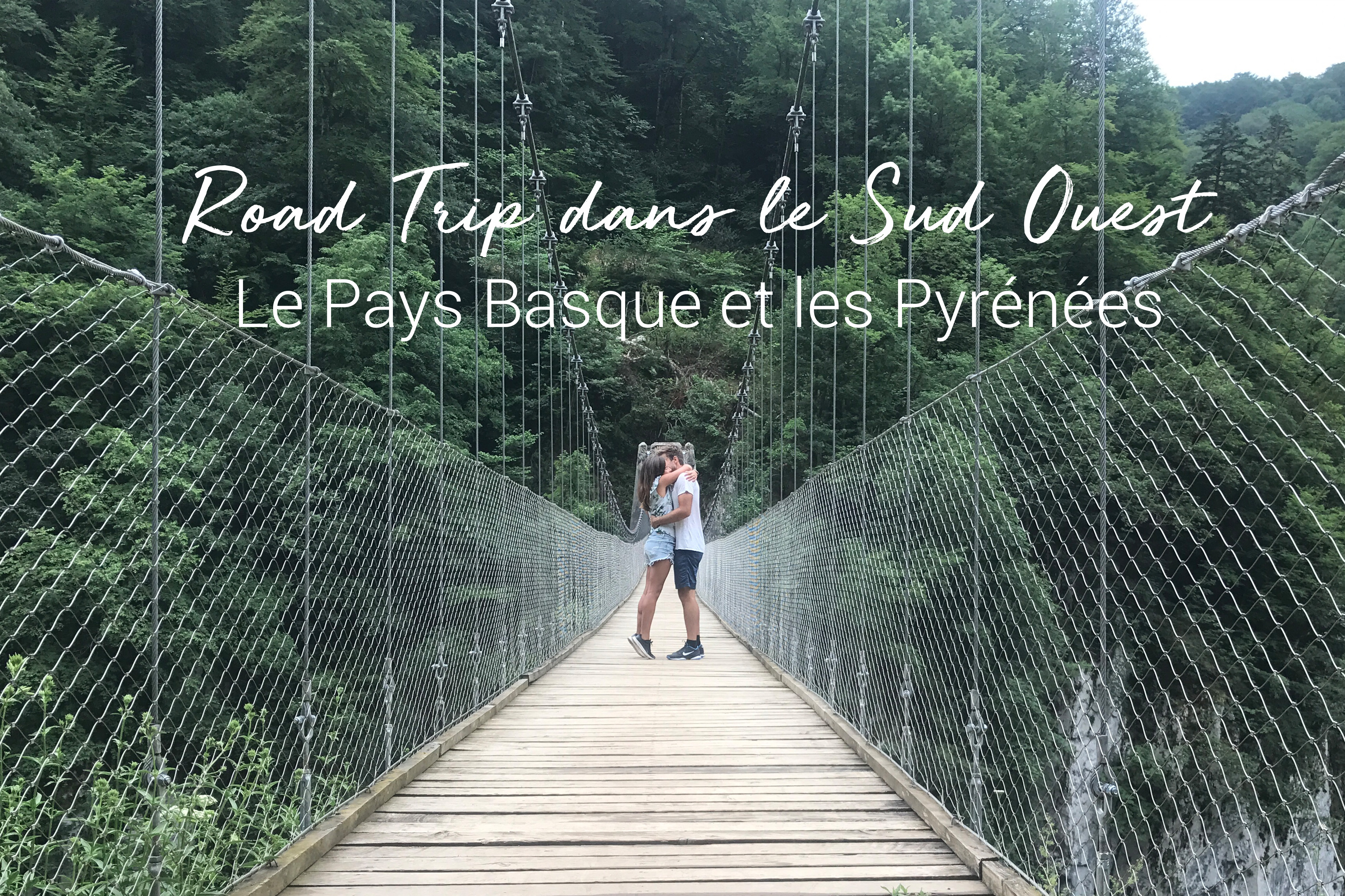 Itineraire vacances sud ouest france