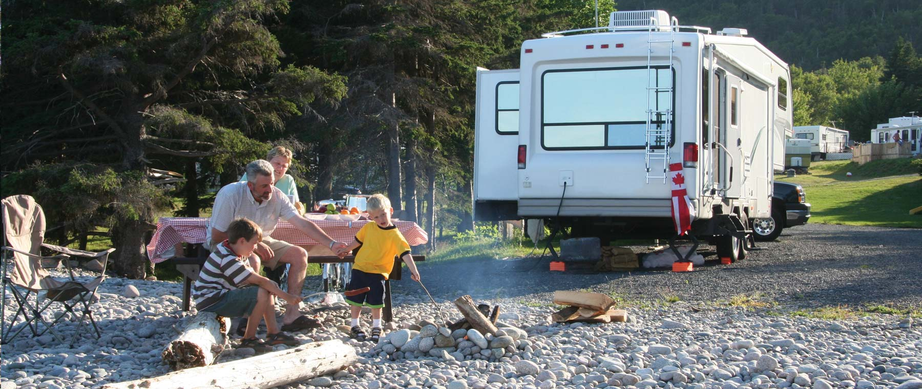 Camping mobilhome canada