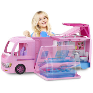 Camping car duplex barbie