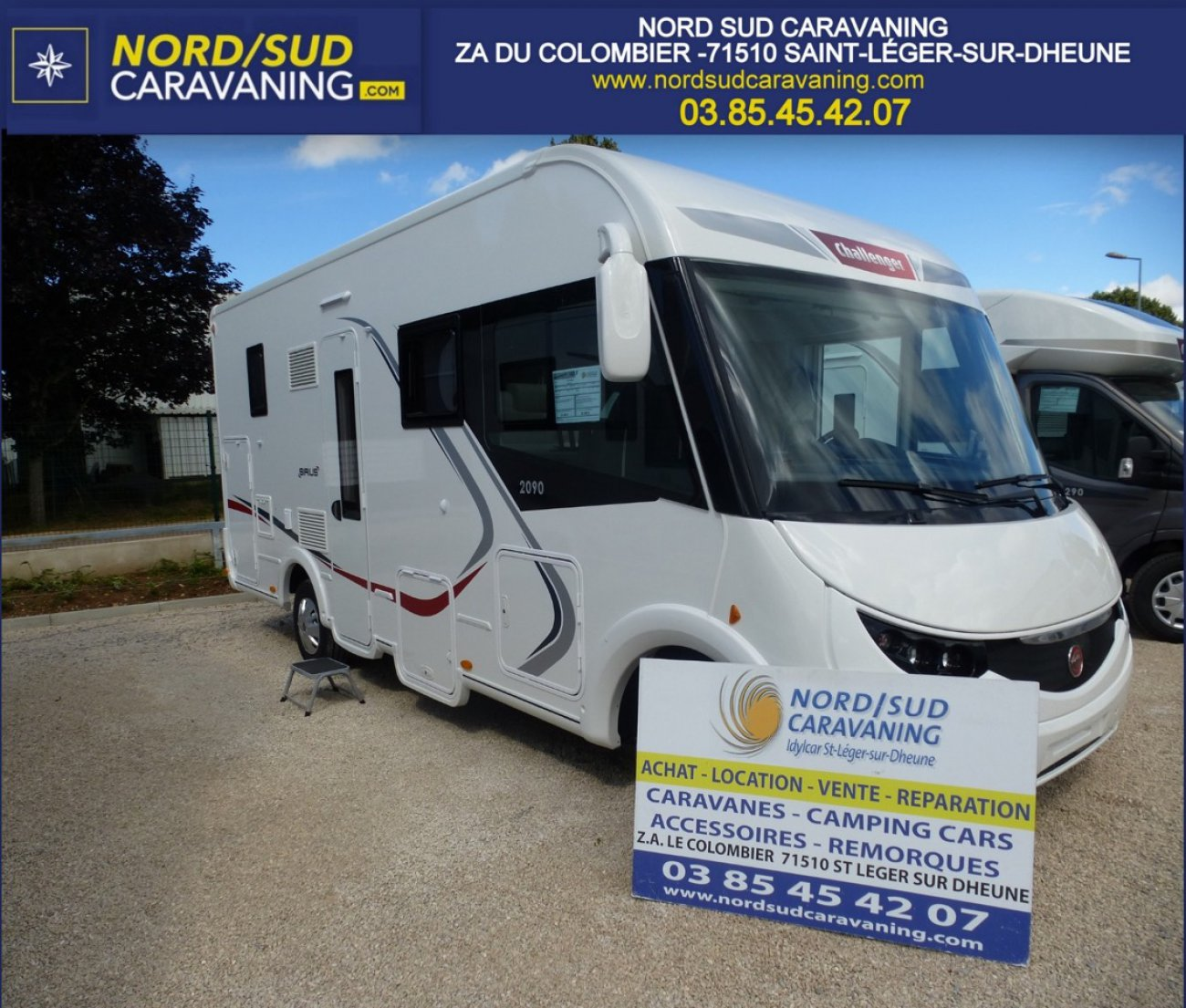 Achat camping car occasion bourgogne