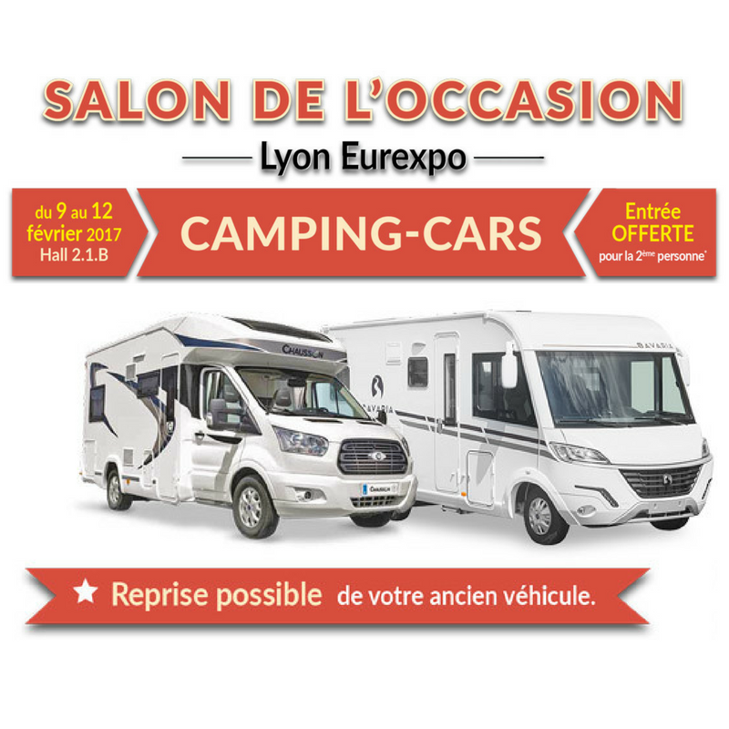 Salon camping car occasion lyon