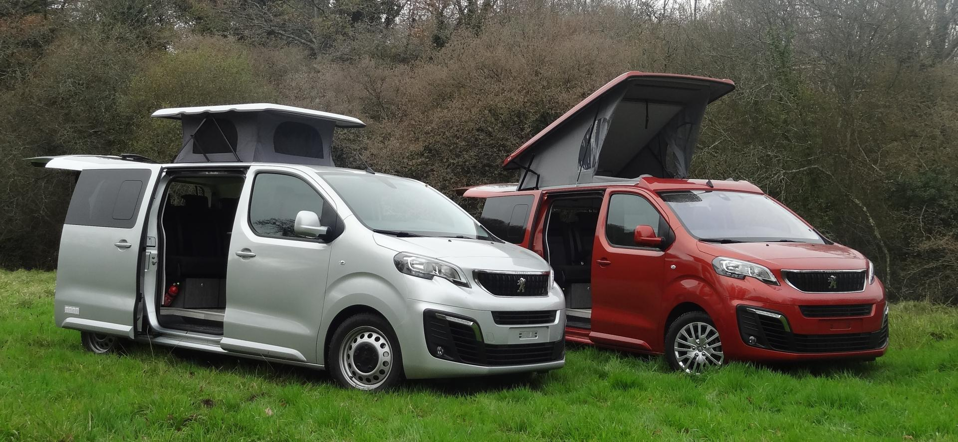 Amenagement peugeot expert en camping car