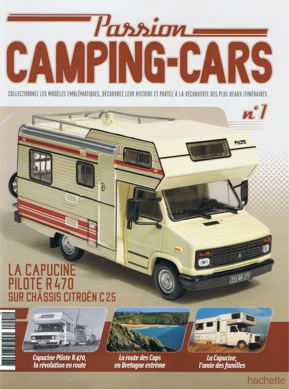 Collection camping car 1/43