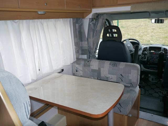 Table camping car occasion