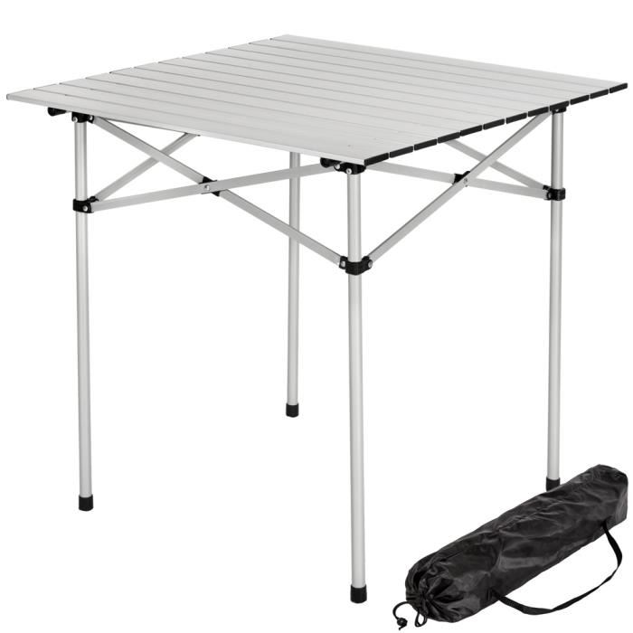 Table camping car pliante