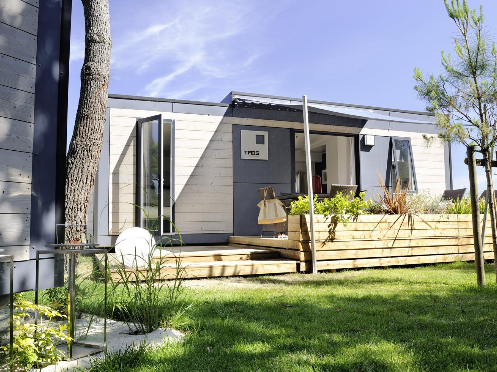 Mobil home occasion dans camping 17