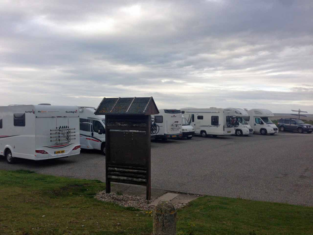 Aires service camping car ecosse