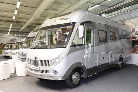 Camping car allemand luxe