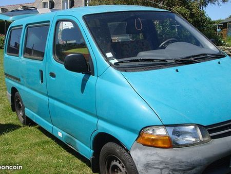 Toyota hiace camping car occasion