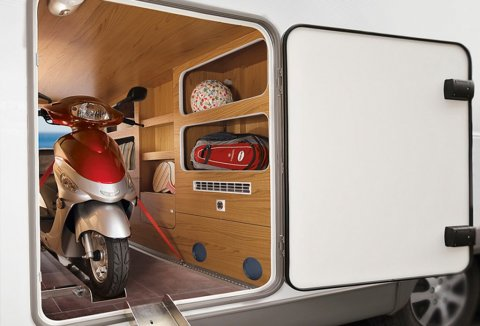 Scooter pour camping car