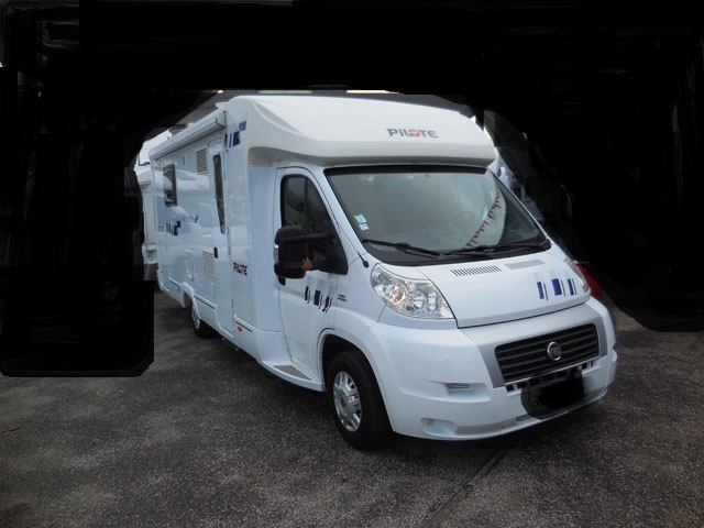 Camping car occasion pilote