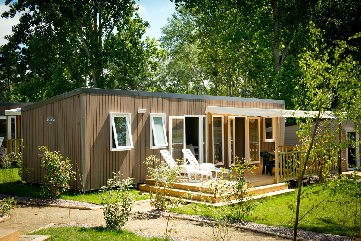 Mobilhome a vendre dans camping ouvert a l annee
