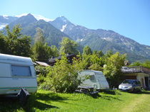 Aire camping car chamonix