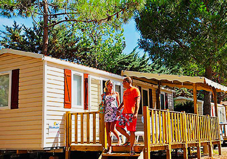 Camping mobilhome corse