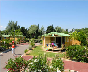 Camping mobilhome route départementale 40 66750 st cyprien