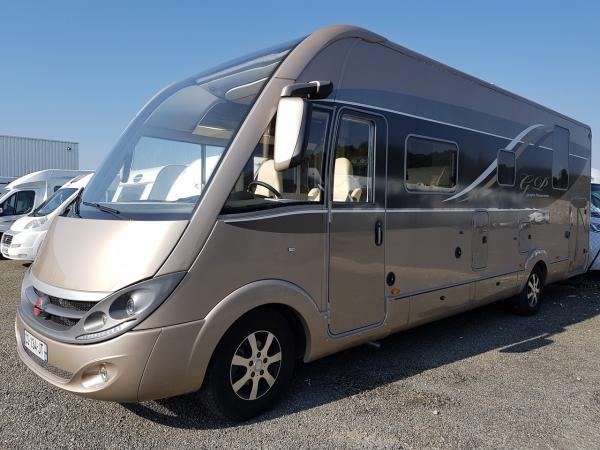 Camping car burstner grand panorama occasion